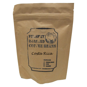 Costa Rica Freshly Roasted Coffee Beans (200g)
