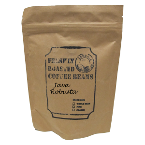 Java Robusta Freshly Roasted Coffee Beans (200g)