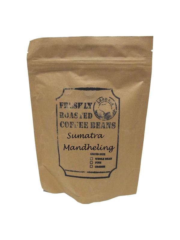 Sumatra Mandheling Freshly Roasted Coffee Beans (200g)